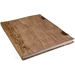 Libro de firmas color madera