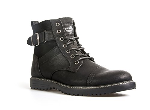 Mens Ankle Boots Combat Zip Up Formal Casual Smart Lace Up Shoes...