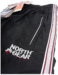 North Gear Equipo Kit de formación Pantalones de chándal–12x–Negro–Kids