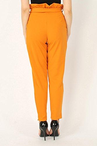 Missi London -  Pantaloni  - tapered - Donna Mustard