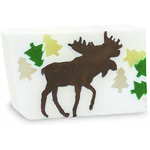 Primal Elements Bar Soap in Shrinkwrap, Chocolate Moose, 6 Ounce