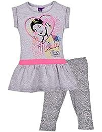 Violetta - Ensemble tee shirt et legging Violetta gris - 6 ans,8 ans,10 ans,12 ans