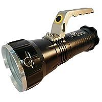 MegaSanal İtalyano 677 Namlulu Askılı Büyük Işık Özellikli Şarjlı El Feneri
