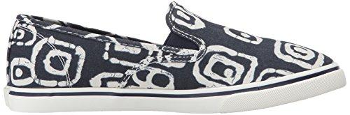 Lauren Ralph Lauren Janis Fashion Sneaker Modern Navy/White Batik Tribal