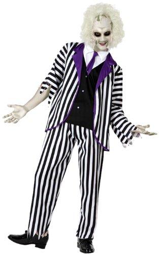 Atosa-14896 Disfraz Fantasma, Color violeta, M-l (14896