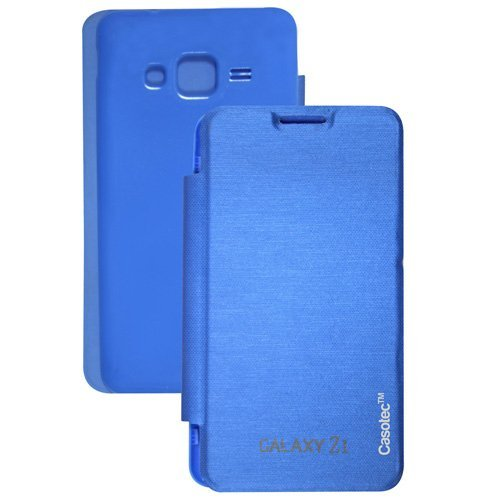 Casotec Premium Flip Case Cover for Samsung Galaxy Z1 - Sky Blue  available at amazon for Rs.125