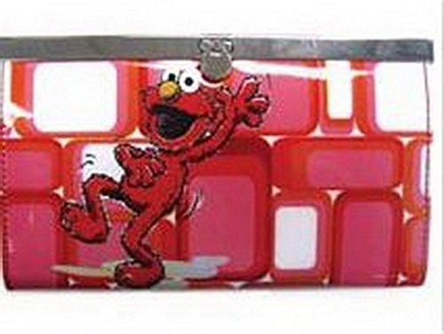 Sesame Street Elmo Flip Lock Wallet 55730 by - Geldbörse Elmo