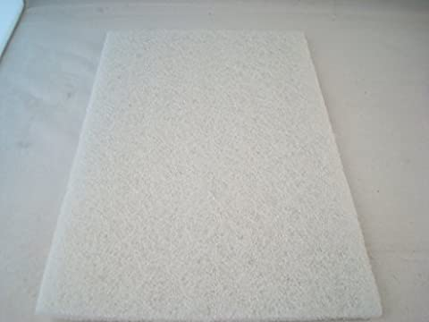 Abrasive Hand Cleaning Pads For Metals & Jewellery Cleaning (White: Non-scratch hand pad)