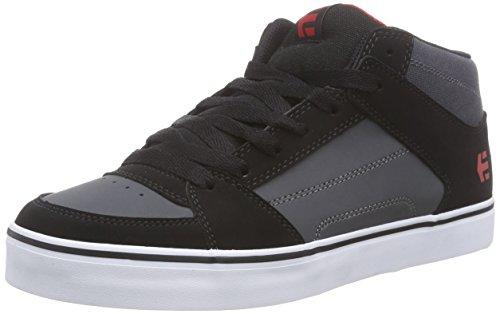 Preto Etnies Multicores Sapatos 565 De Escuro Vermelho Skate Rvm Homens Cinza 0Xawr0