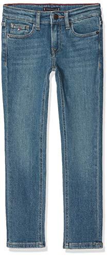Tommy Hilfiger Jungen Scanton Slim CEBST Jeans, Blau (Cedar Blue Stretch 911), 116 (Herstellergröße:6) -