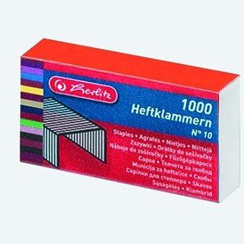 Herlitz No.10 Staples