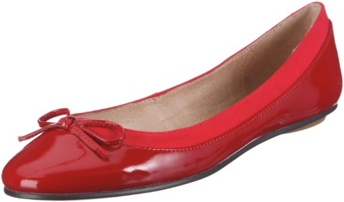 Buffalo London 207-3562 PATENT LEATHER, Damen Geschlossene Ballerinas, Rot (RED118), 39 EU