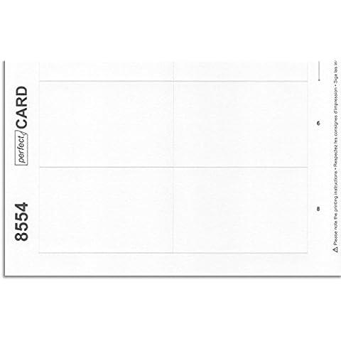 10 pliegos de impresión 8554 por identificador personal vista® 60