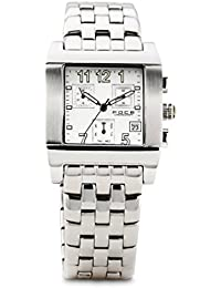 FOCE Analog White Dial Men's Classic Business Watch - F128GSM-WHITE