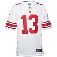 Nike NYG NFL Game White JRSY - Camiseta, Hombre, Blanco(White)