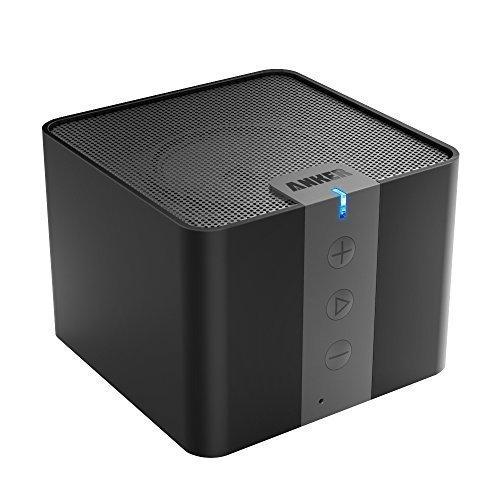 Anker A7908 Mobiler Tragbarer Bluetooth 4.0 Lautsprecher Speaker Boombox mit 4W Treiber & 15-20 Stunden Wiedergabedauer & kristallklarer Klang (Schwarz)