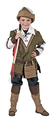 Robin Hood Kostüm für Jungen Gr. 128