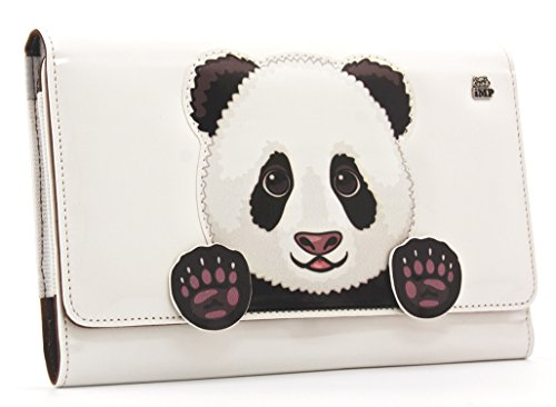Universal Tablet Luxury Animal Slipcase - Panda (iPad Mini + Most 7