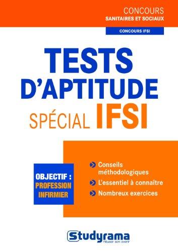 Tests d'aptitude spécial IFSI