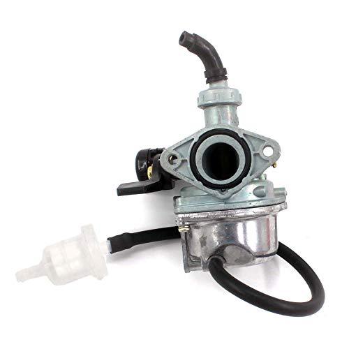 AISEN Vergaser für 50ccm / 70ccm / 110ccm China Quad/Kinderquad mit Choke am Lenker 4-Takt Motoren