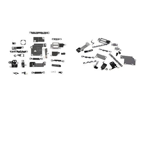 Baoblaze Wiedereinbauteil Handy Innere Teile Kit 21pcs Kit für iPhone 6s + 25pcs Kit für iPhone 6, Flexkabel Kit