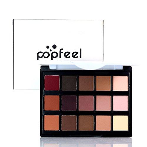 ROPALIA Maquillage Professionnel Correcteur 15 Couleur Palette Fard à Paupières Matte Crème Concealer (A01)