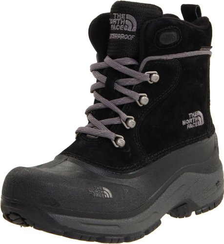 The North Face - Boys Chilkats Lace Boots, Farbe Black/Zinc Grey, Größe 29,5 EU (UK 11) (The North Face Schuhe Chilkats)