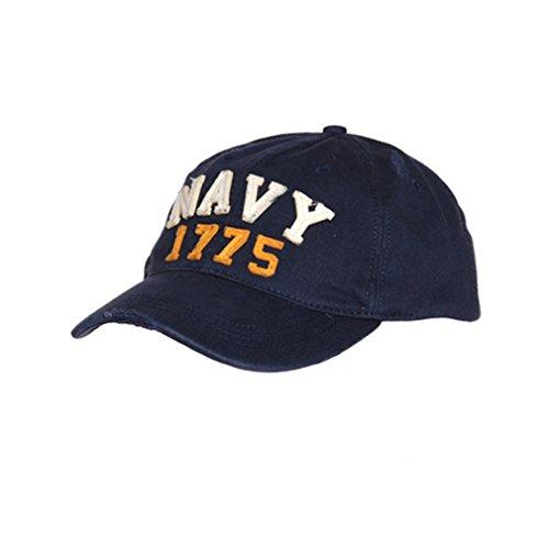 US NAVY 1775 BASEBALL CAP USA Amerika Kappe Mütze USMC Marine United States USN Vereinigten Staaten Matrose #17212 (States Mütze Navy United Cap)