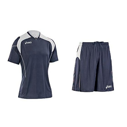 Football Kits: Jersey + Shorts ASICS Junior BONUS navy T278Z9 (Jersey-shorts Asics)