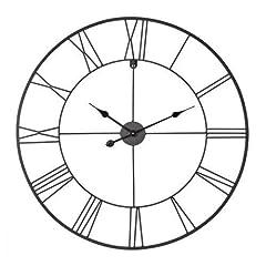 Idea Regalo - Ceanothe Orologio Forge, Diametro 80cm