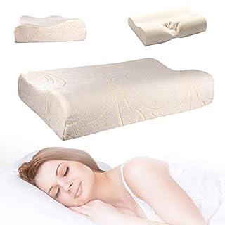 Memory-Foam-Kissen mit Bezug mit Reißverschluss, einzelne Kontur, von Comfy Nights, Medium 50 x30 x 10
