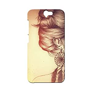 BLUEDIO Designer Printed Back case cover for HTC One A9 - G0721