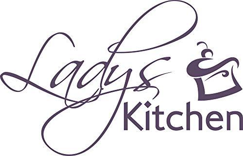 GRAZDesign Wandtattoo Motiv für Kühlschrank/Tür - Küchenbild Sprüche auf englisch - Geschenk für Beste Freundin Wandtattoo Muffins / 78x50cm / 582 Bishop Purple 50 Besten Muffin