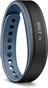 Garmin Vivosmart - Bracelet d'activité avec Smart Notifications - Ecran tactile OLED - Bleu - Small