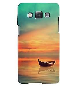Citydreamz Boat\Blue Sky\Nature Hard Polycarbonate Designer Back Case Cover For Samsung Galaxy J5