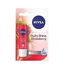 Nivea fruity shine strawberry lip balm