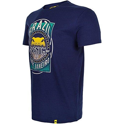 Venum Carioca-Maglietta da uomo, 4, colore: blu Navy, S Blu navy