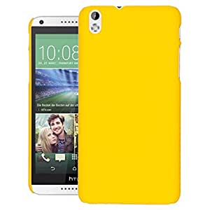 ZOUK Hard Back cover For HTC Desire 816 dual Sim - Yellow