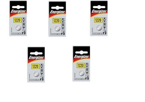 Galleria fotografica Energizer CR1220-C1 A bottone al litio - Confezione da 5