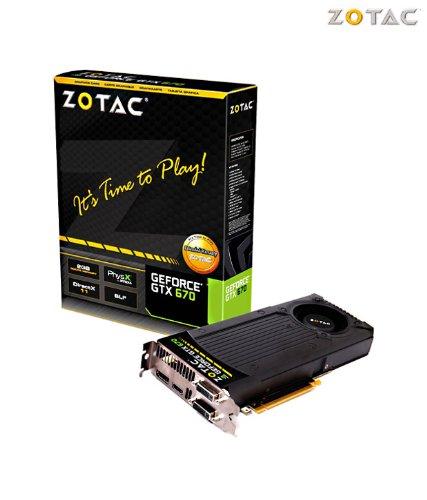 Zotac Geforce Gtx 670 2gb Ddr5 Graphic Card