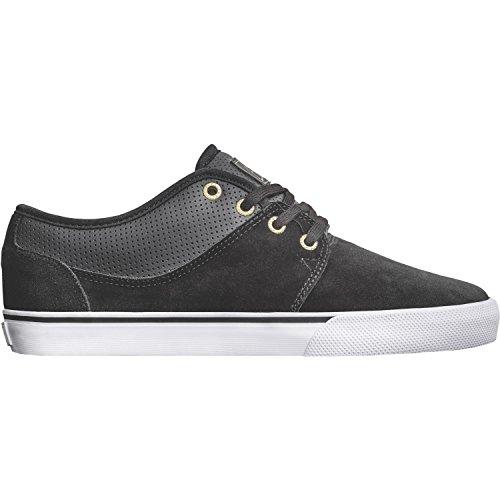 Globe  Mahalo, Chaussures de skateboard homme Schwarz (Black/Gold)