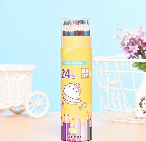 Personalisierte Bleistifte Farbstifte 24 Buntstift-Malerei-Farbbleistifte Kinder-Zeichnungs-Bleistift (Personalisierte Bleistifte Für Kinder)
