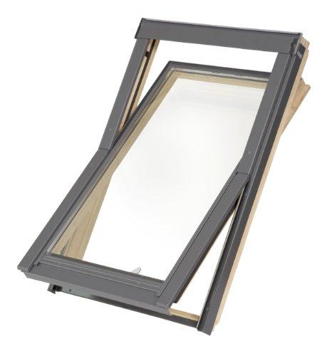 fakro rollo Dachfenster Balio Schwingfenster mit Eindeckrahmen 66x112 cm wie 66x118cm (VKR Konzern Rooflite Velux)