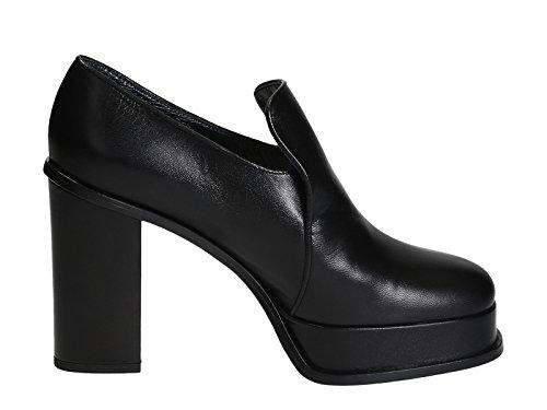 celine-scarpe-con-tacco-donna-317413kpmc38no-pelle-nero