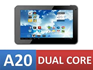 """Dual Core 7"""" inch Android Tablet OSTECH DUAL CORE Allwinner A20 Cortex A7 1.2 Ghz (up to 1.5Ghz Maximum) (x2) Processor DUAL CORE 400 Mhz (x2) Mali GPU 