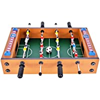 "Winmax Mini Football Table MDF Durable Game 14.5""x 8.5""x 3.5""Fun for Birthday Holiday Presents"