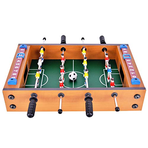 winmax Mini Football Table MDF Durable Game 14.5