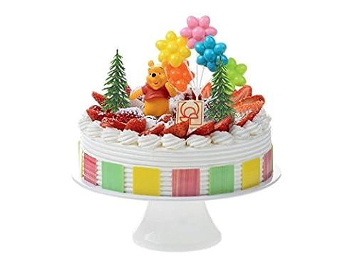 Gâteau décoration Winnie l'ourson 4teiligtortenaufleger 1Anniversaire anniversaire d'enfant Décoration de gâteau