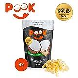 POOK Kokosnuss-Chips Original Sea Salt 8er-Set