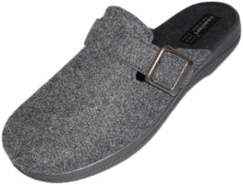 Intermax Filz-Clog - Zapatillas de estar por casa para hombre